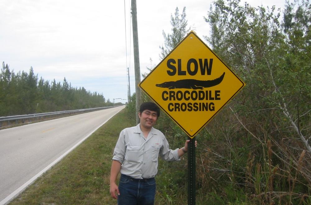 2005年 フロリダ州にて