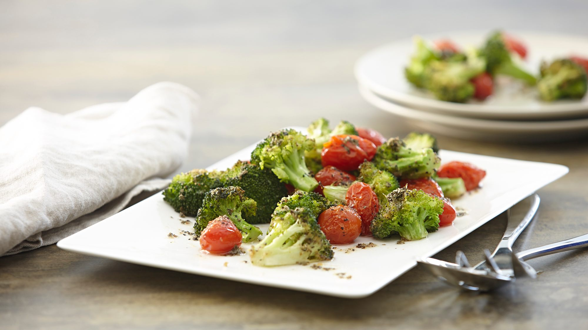 McCormick Roasted Broccoli and Tomatoes