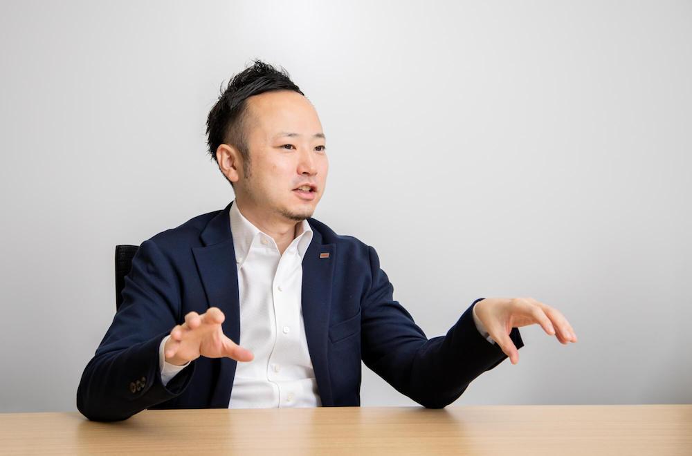 東芝エネルギーシステムズ株式会社 DXビジネスデザインプロジェクトチーム サブプロジェクトマネージャー 磯 景之氏