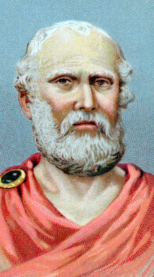 Portrait of Plato