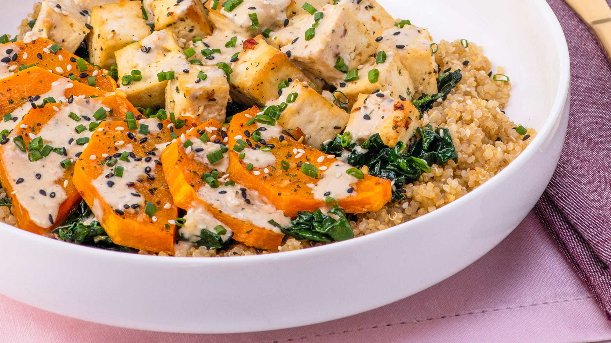 McCormick Hearty Tofu Bowl