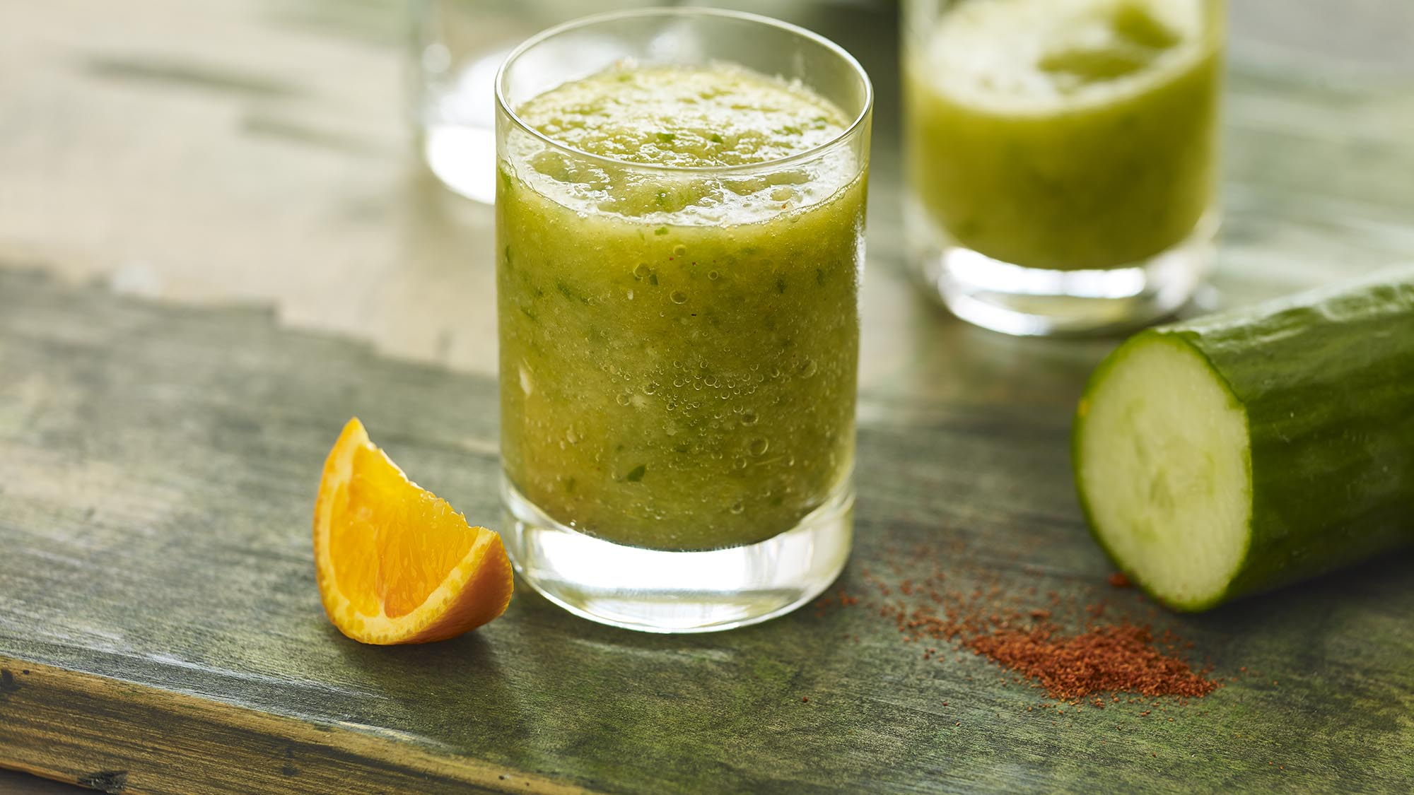McCormick Spiced Cucumber and Apple Morning Juice