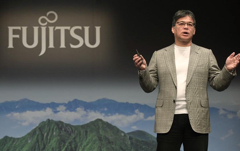 写真 : 富士通株式会社 代表取締役社長 時田 隆仁