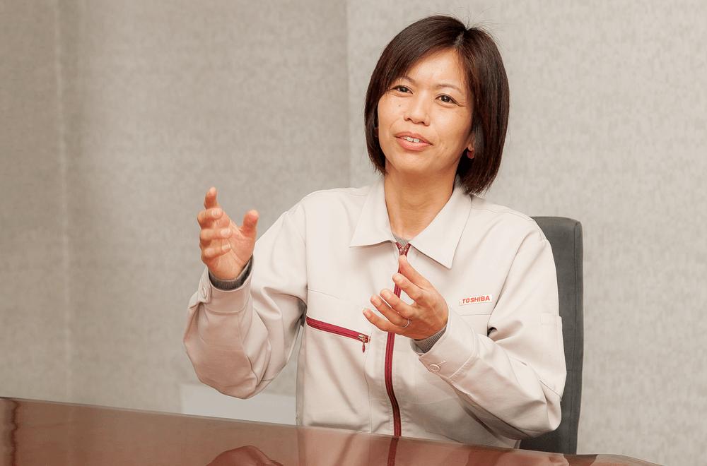Yumi Hayashi, Toshiba Corporate Research & Development Center