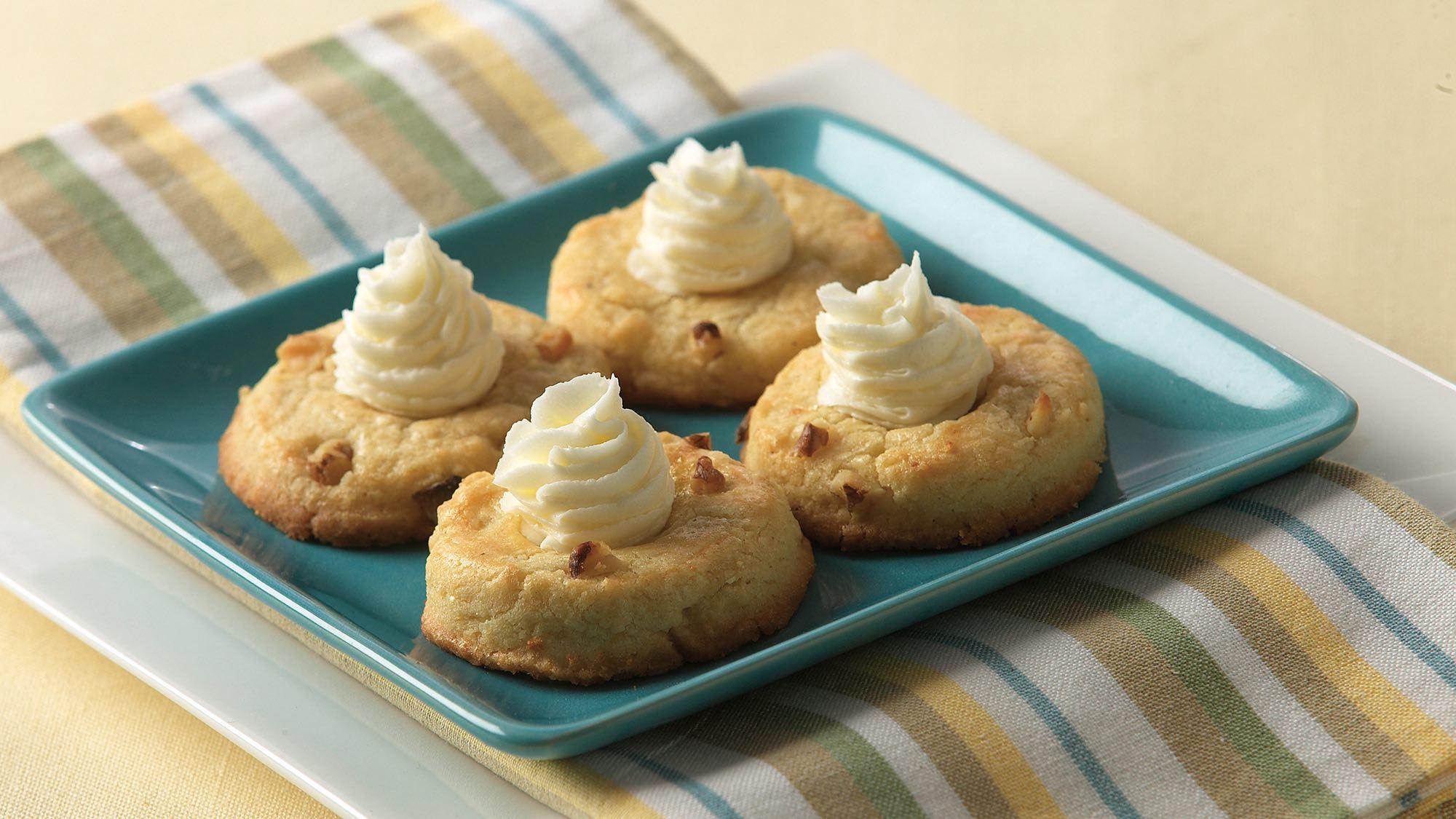 McCormick Eggnog Thumbprint Cookies