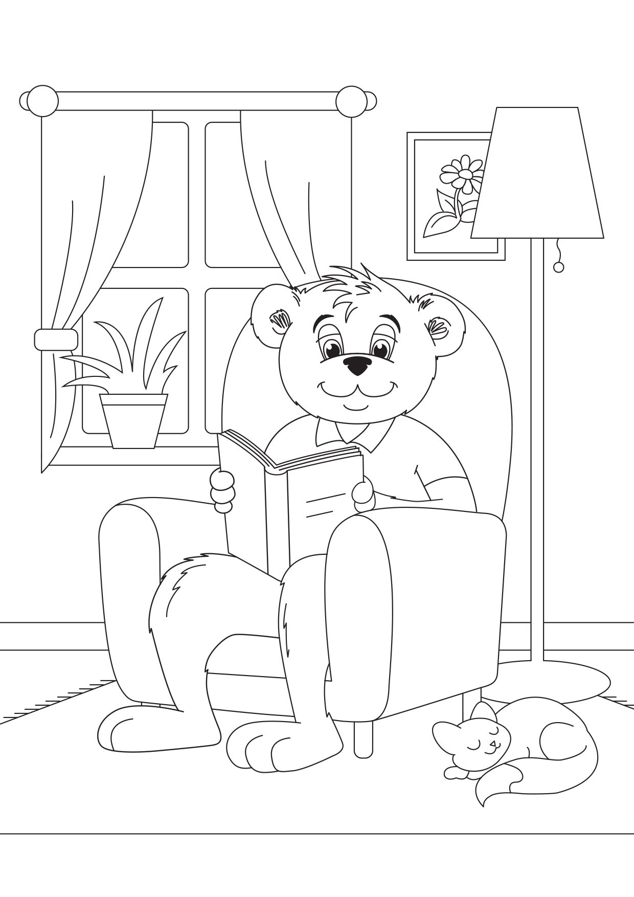 Billy the Bear_Reading Colouring 150dpi.jpg