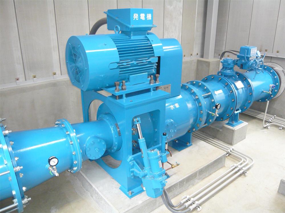 IMAGE OF  Toshiba micro hydropower generating equipment