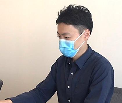 写真 : 長崎大学熱帯医学研究所 山藤 栄一郎 医師