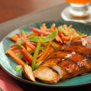 Frank's RedHot Spicy Honey Glazed Chicken