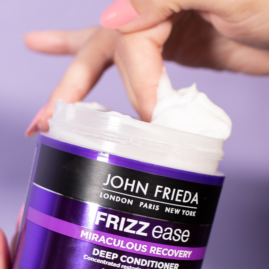 Frizz Ease Deep Conditioner for frizzy hair