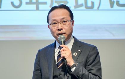 写真 : YKK AP株式会社 取締役副社長 岩渕 公祐 氏