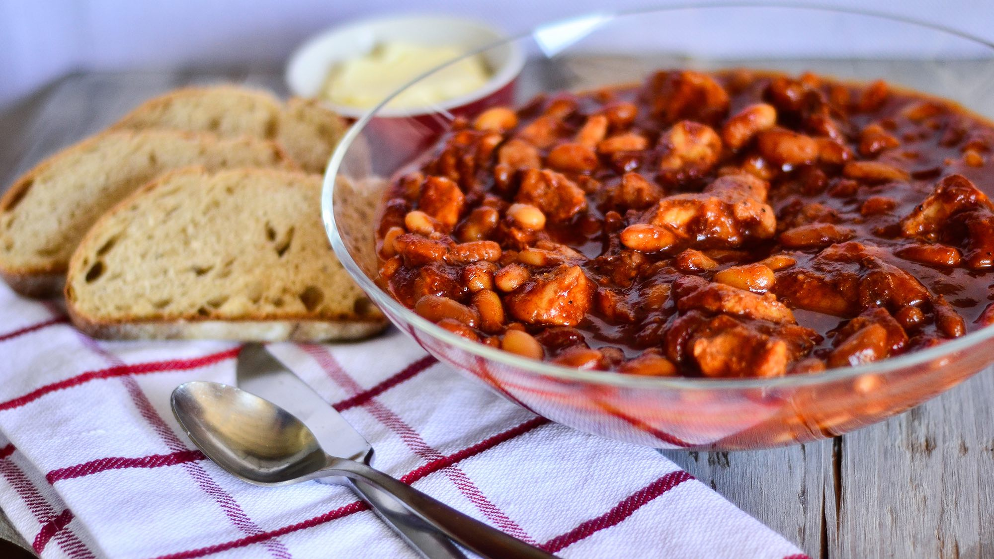 McCormick Slow Cookers Southern BBQ Pork and Beans