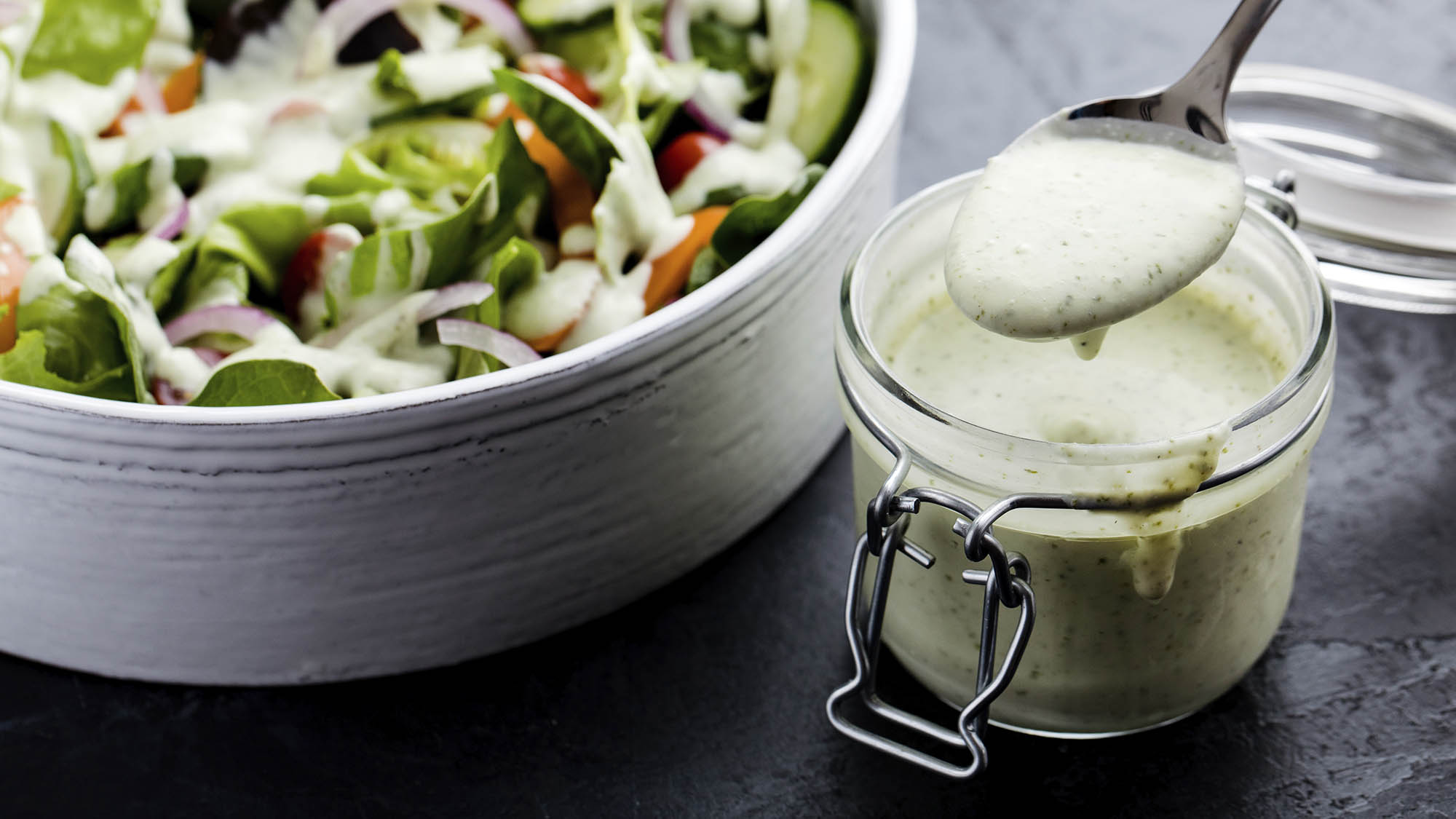 Coconut Cilantro Lime Dressing