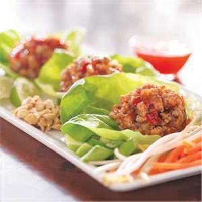 Frank's RedHot Thai Turkey Lettuce Cups