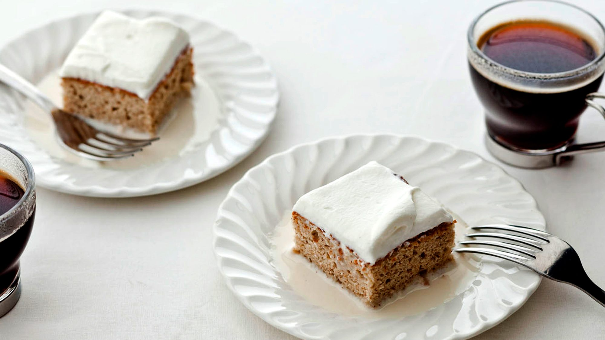 McCormick Gourmet Coconut Tres Leches Cake