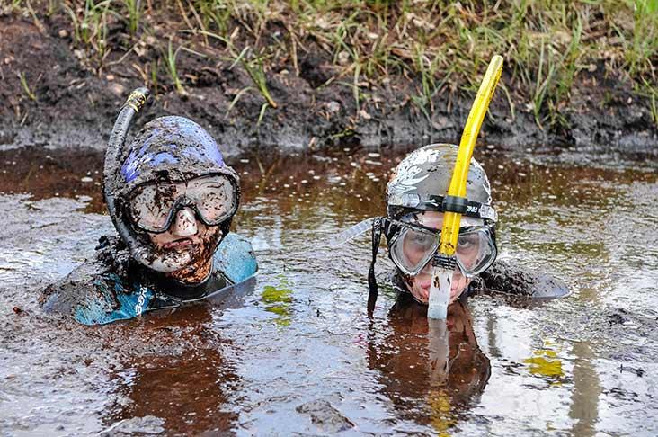 Irish Bog Snorkelling