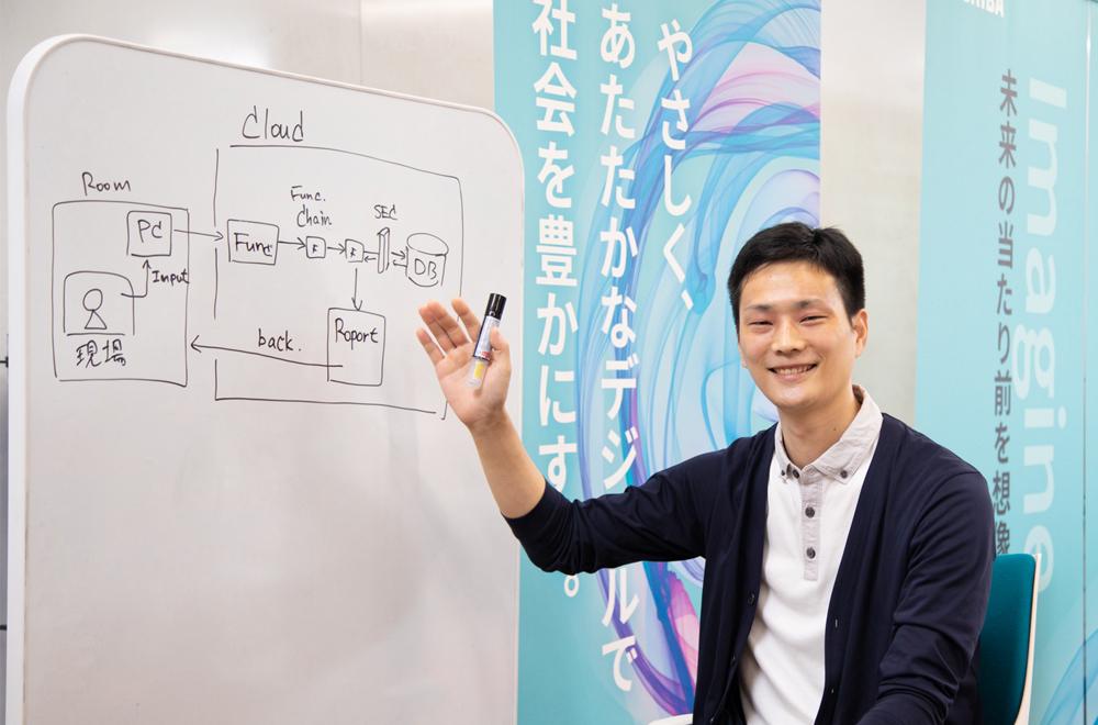 東芝デジタルソリューションズ株式会社 福島崇文氏(その1)