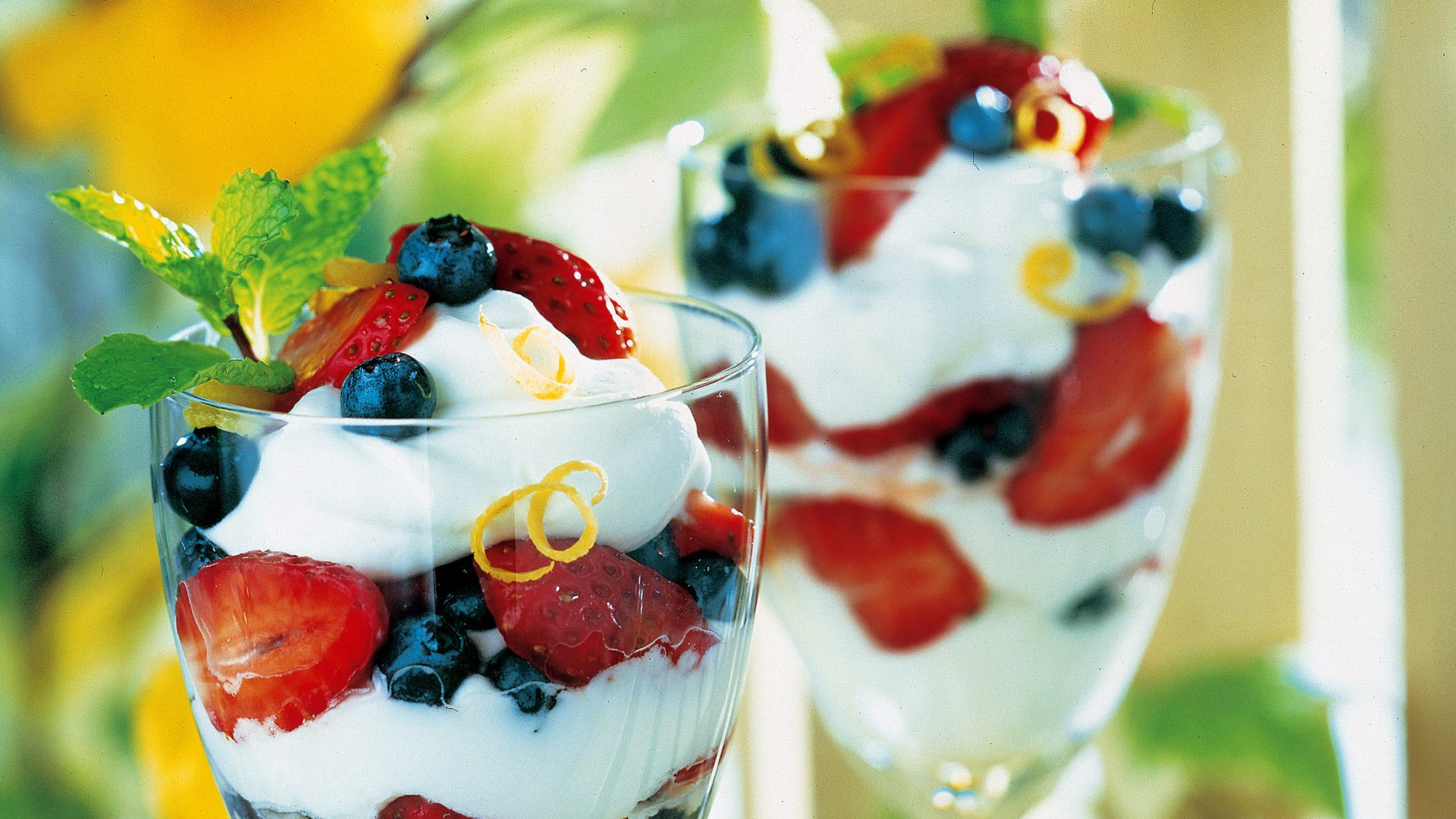 Berry Lemon Mousse Parfait