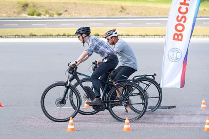 Cyclist AEB
