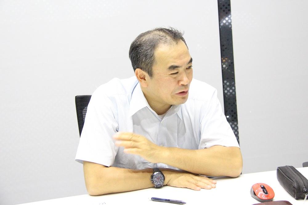 東芝エレベータ 技術本部商品企画部 部長 佐野浩司氏