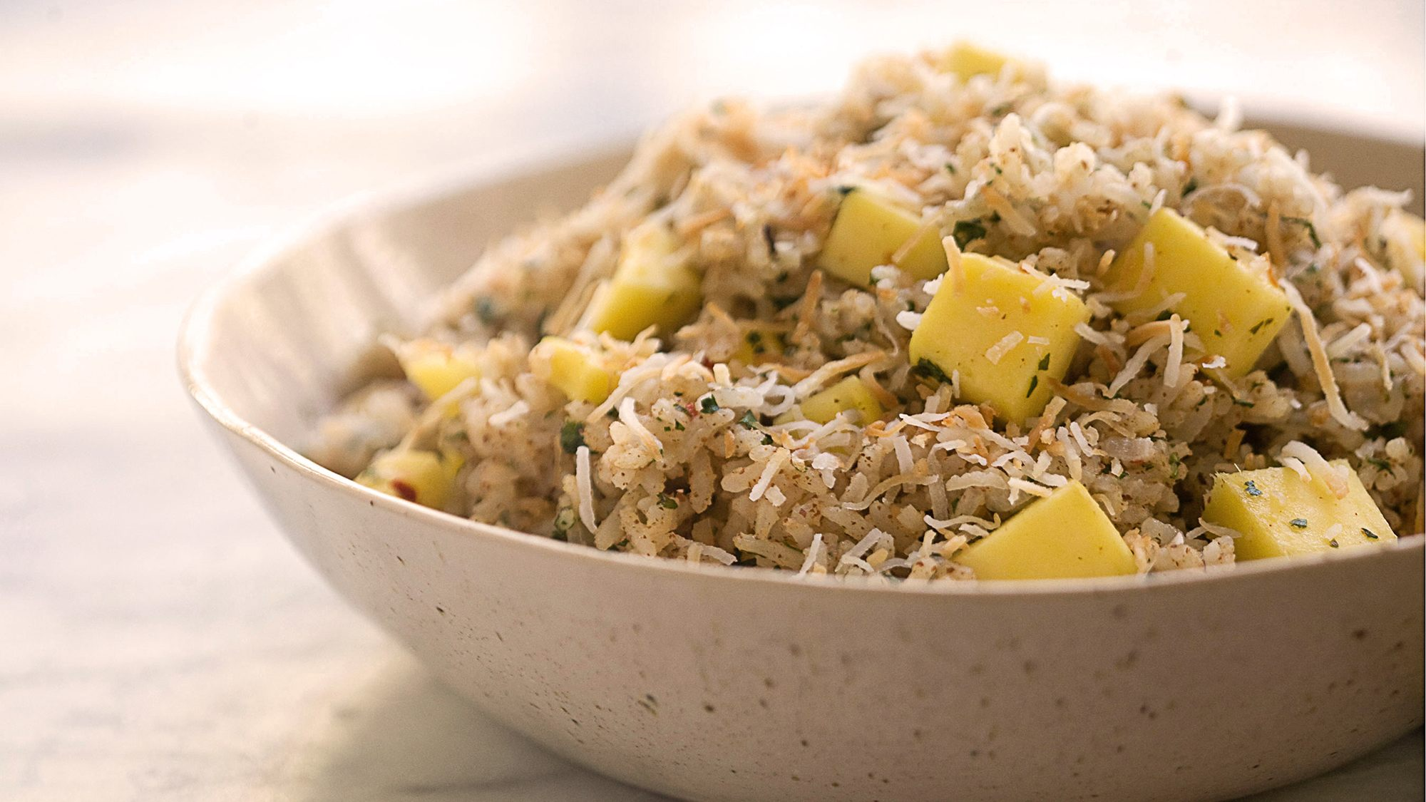McCormick Gourmet Spiced Jasmine Rice with Macadamia Nut Butter and Cilantro
