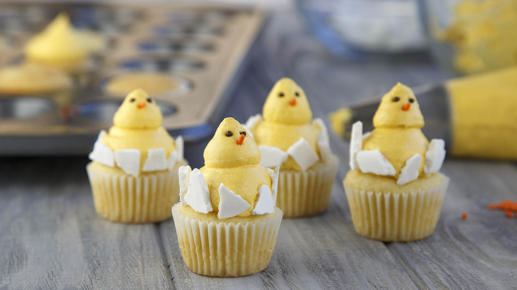 McCormick Baby Chick Cupcakes