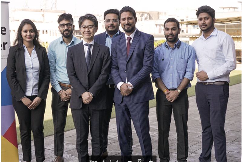 Farhan Javed, Vice President, Toshiba Johnson Elevators India (Third person from the right in the photo)