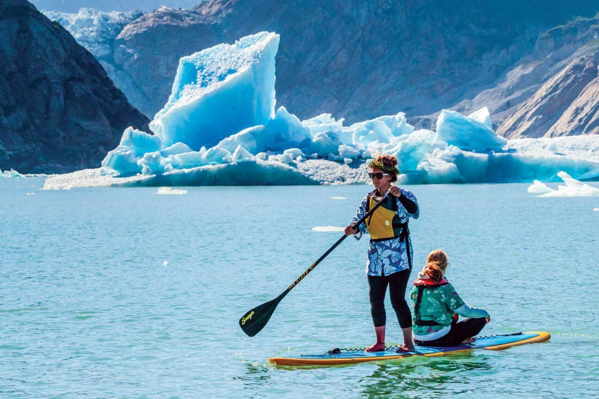Southeast Alaska stand-up paddleboarding