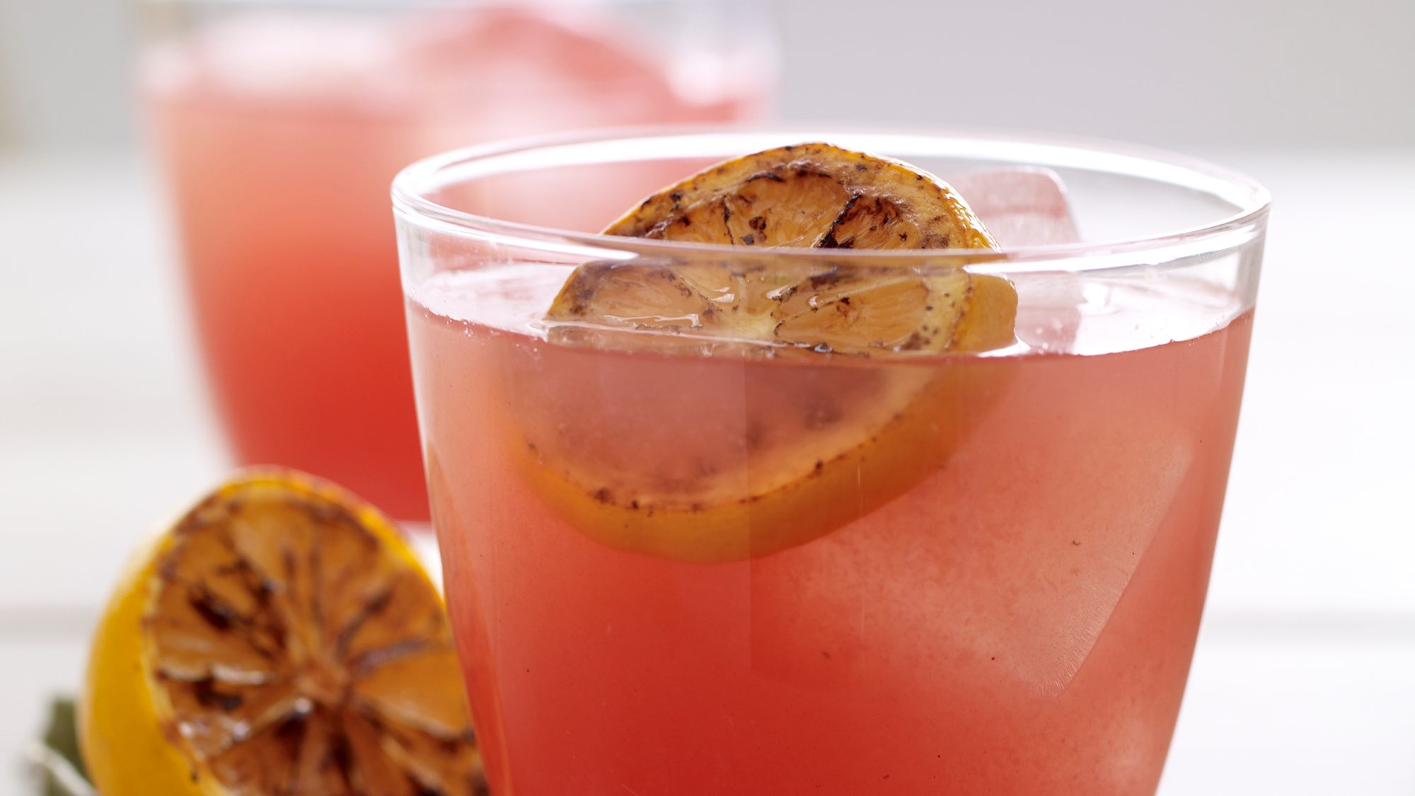 McCormick Fresh Lemonade with Grilled Lemons & Watermelon