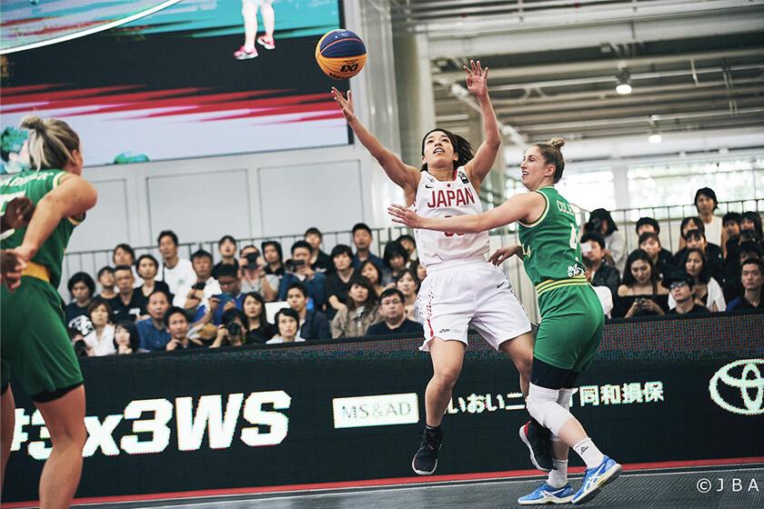 写真 : 篠崎選手日本代表活動中の写真