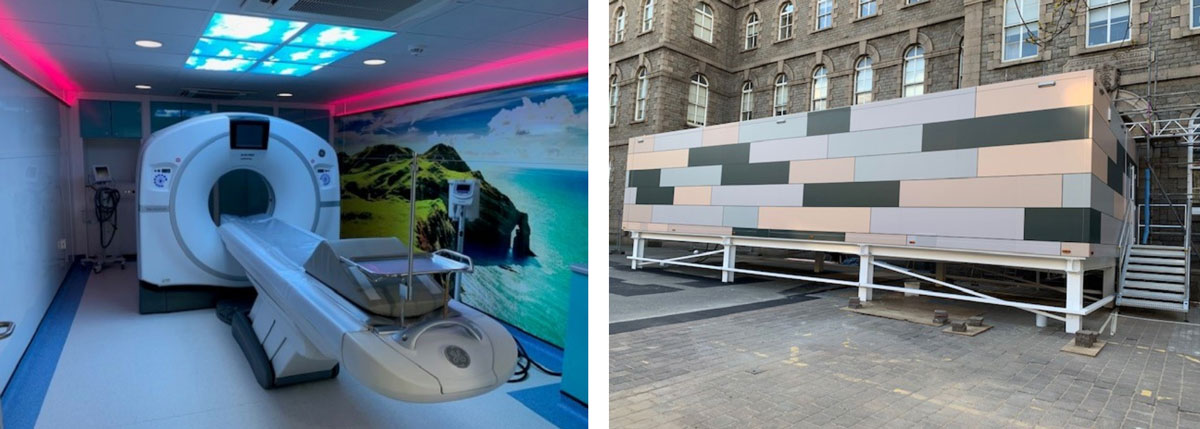 GE Healthcare - Relocatable CT at Jersey General Hospital UK