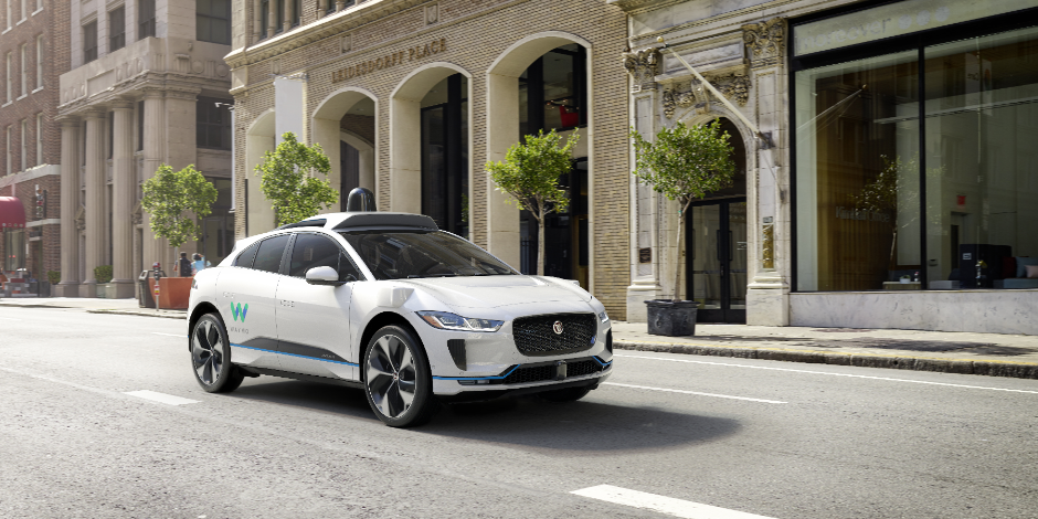 Waymo's next self-driving vehicle will be a Jaguar I-PACE all-electric vehicle.