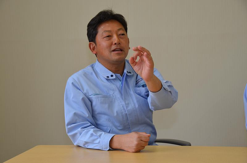 東芝エレクトロニックシステムズ株式会社 電波応用技術部 電波システム第一担当 課長 平井健一氏