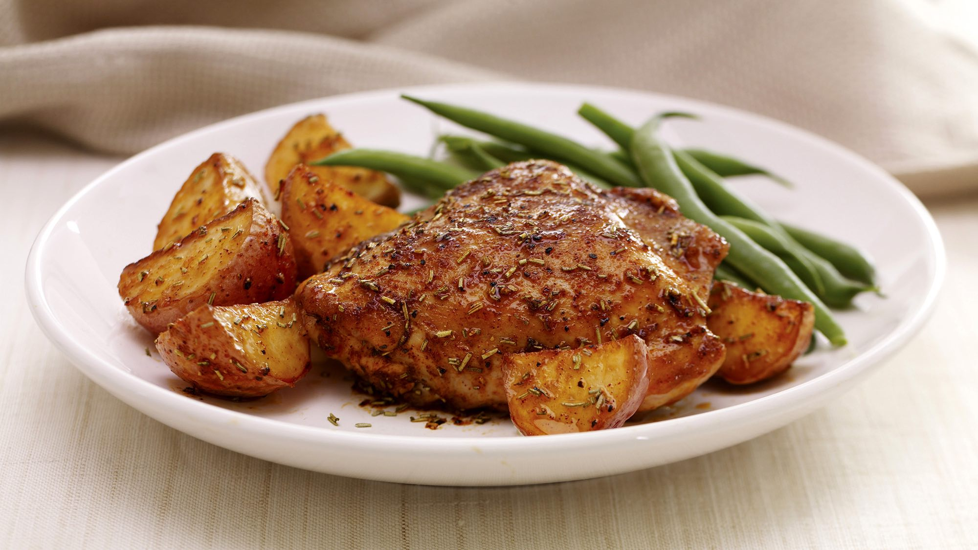 McCormick Rosemary Baked Chicken With Potatoes
