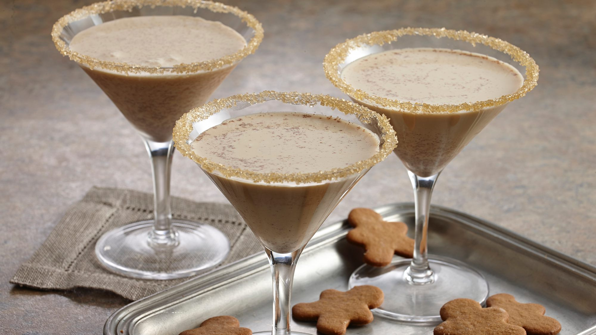 McCormick Gingerbread Cocktails
