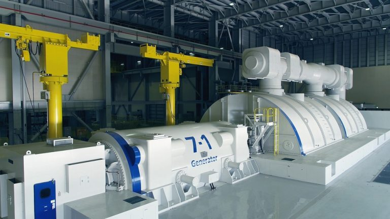 Combined cycle power generation at the Nishi-Nagoya Thermal Power Station of Chubu Electric Power Co., Inc. boasts one of the world's highest levels of thermal efficiency