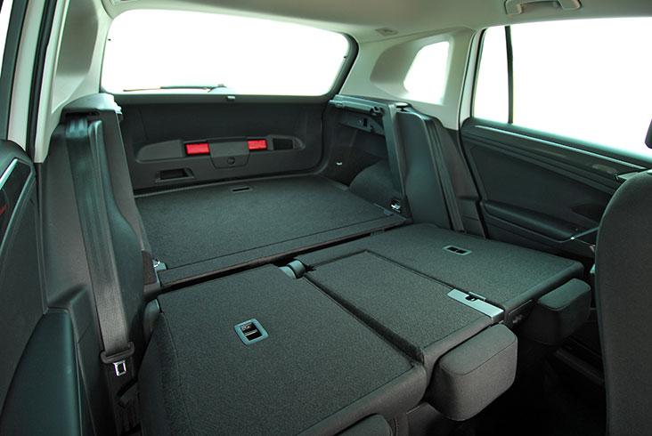 Car folding seats