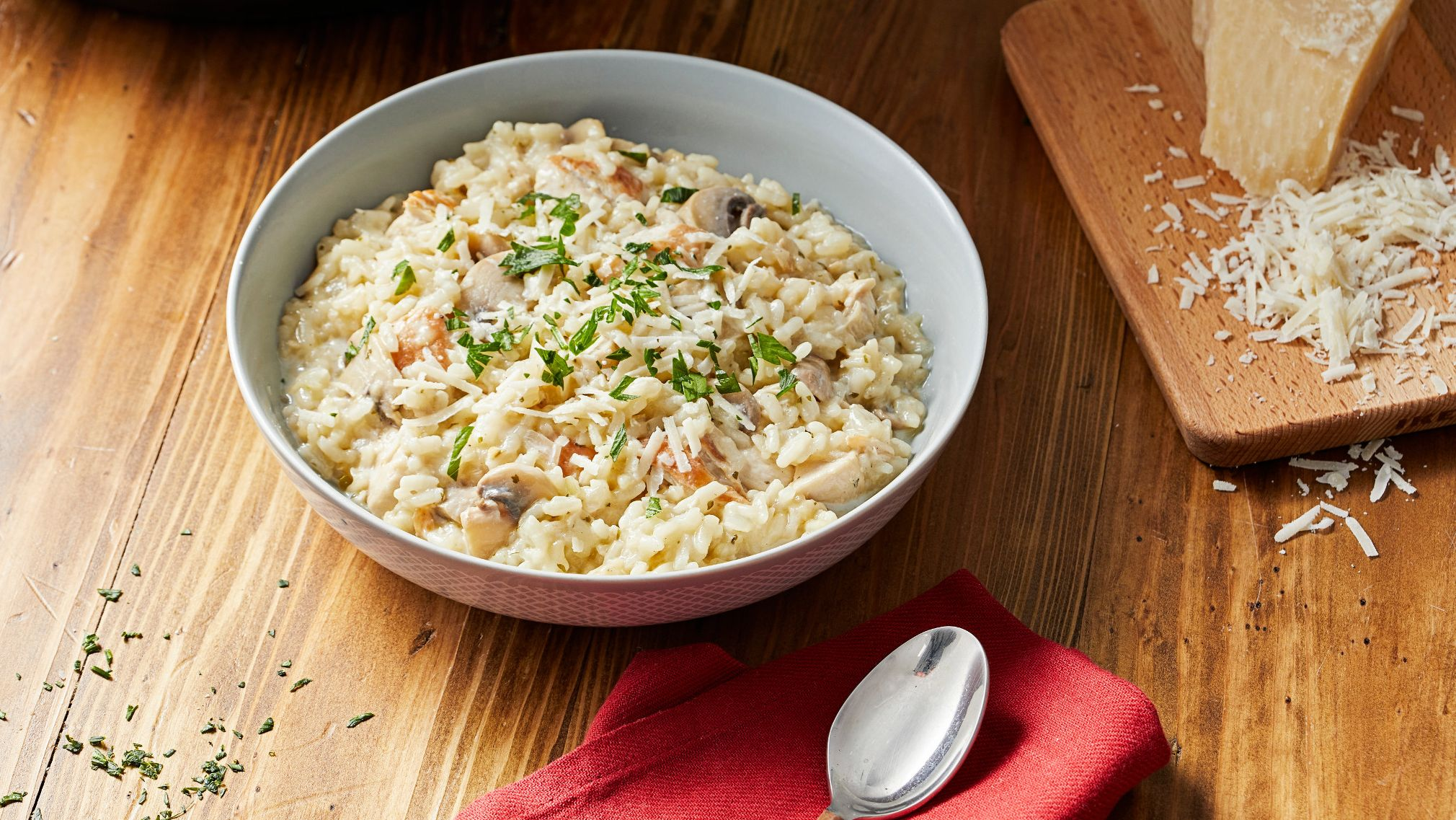 McCormick Instant Pot® Chicken Alfredo Risotto