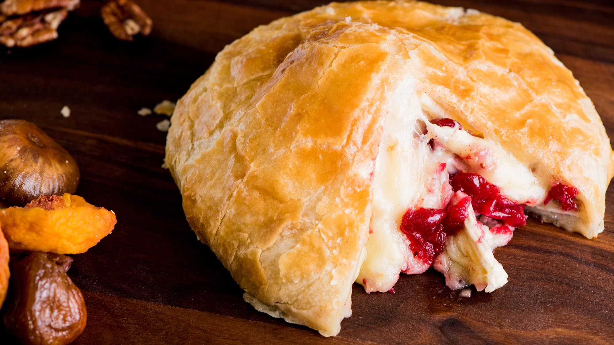 McCormick Baked Brie with Cranberry Chutney