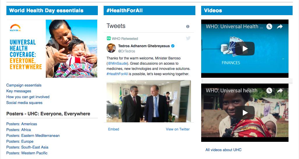 health social media campaigns