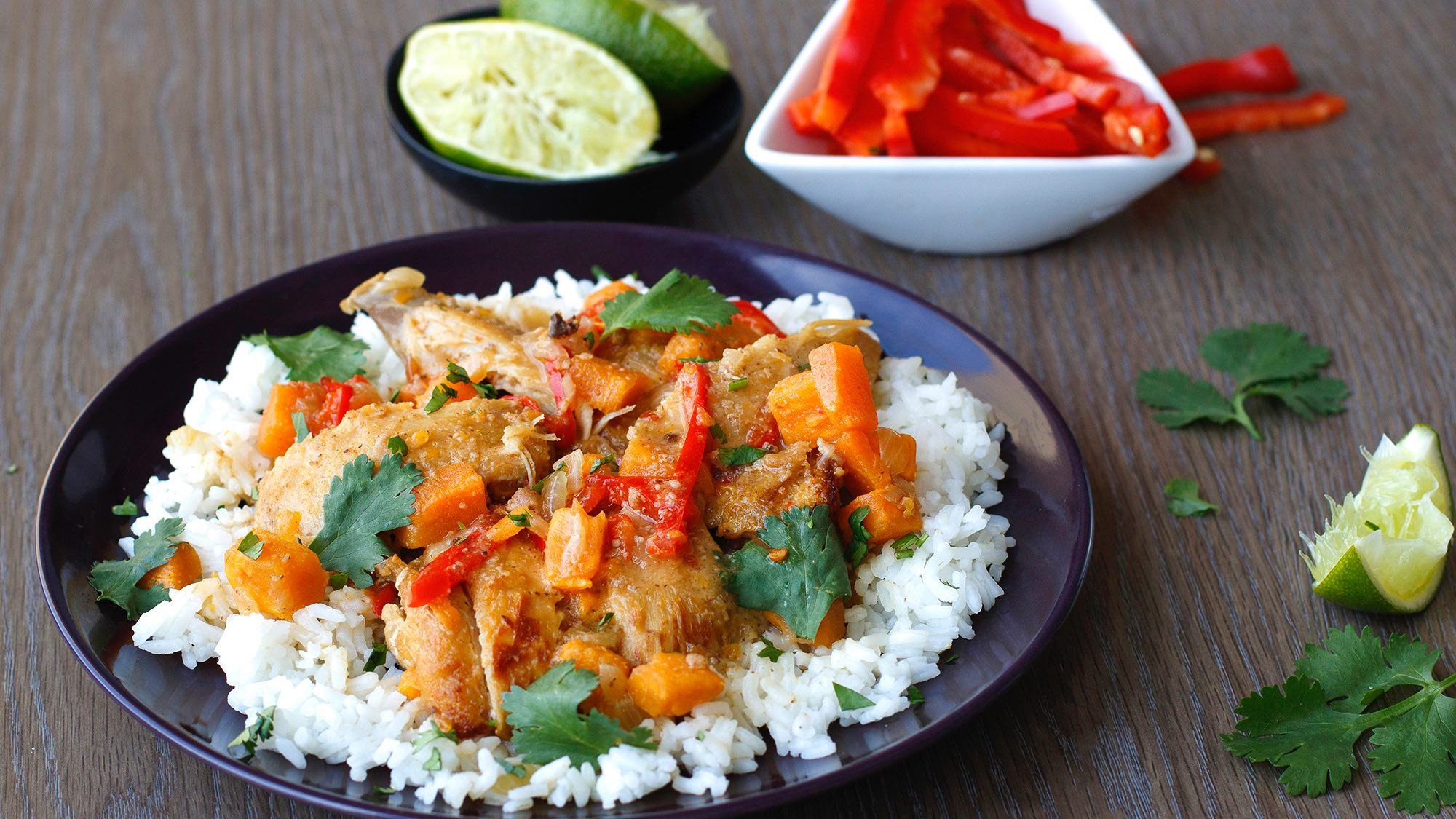 Thai Kitchen Coconut Almond Chicken Stew with Cilantro