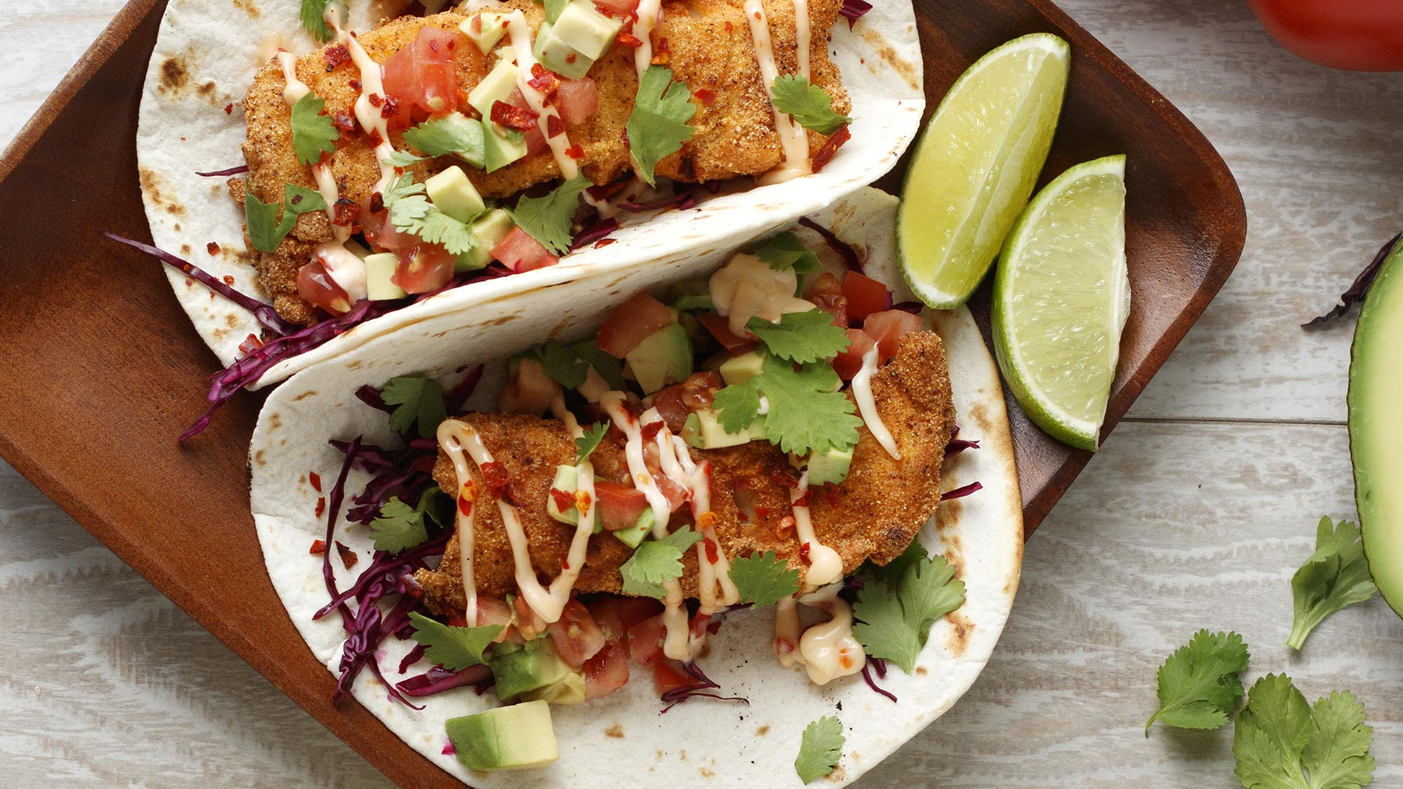 ZATARAIN'S Creole Fish Tacos