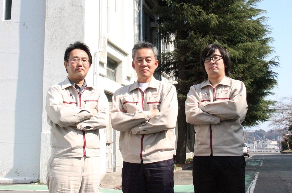 GaN搭載LEDの電源回路に関わったチームメンバー