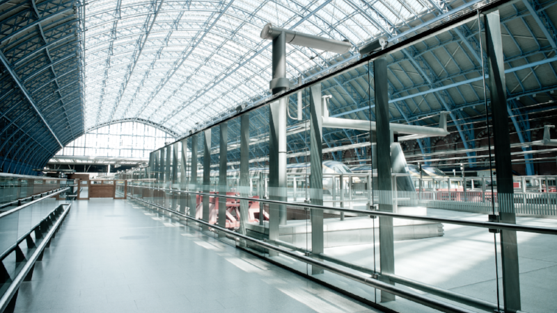 New Eurostar terminal in London