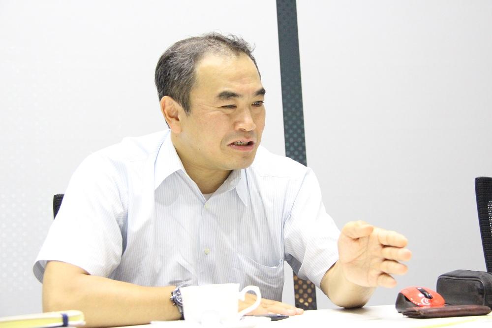 東芝エレベータ社 技術本部商品企画部 部長 佐野浩司氏