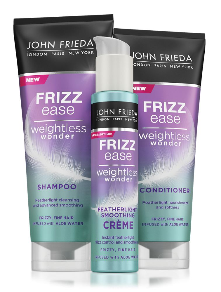 John Frieda Weightless Wonder products