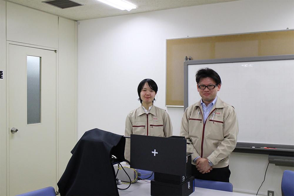 東洋邦氏と秦由季氏