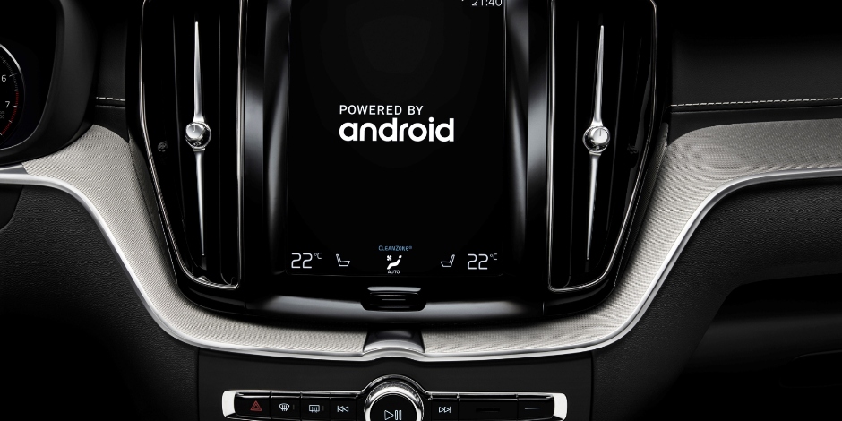 Volvo Cars partners with Google to build Android into next-generation cars.