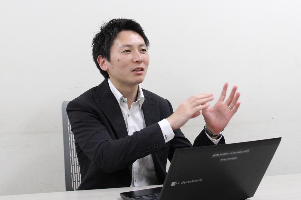 東芝 ストレージ&デバイスソリューション社 秋山林太郎氏