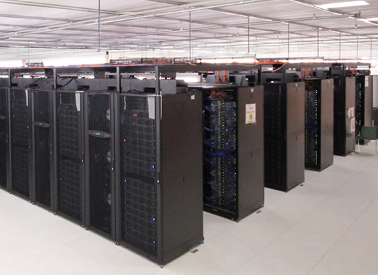 Photo : The NCI supercomputer constructed in 2012 and housed at the Australian National University